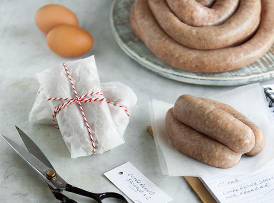 Pioneer Foodstore | Cumberland Sausage | bulk buy and save | Carlisle, Cumbria