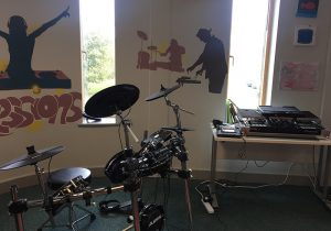 Pioneer Foodstore | Carlisle Youth Zone music room