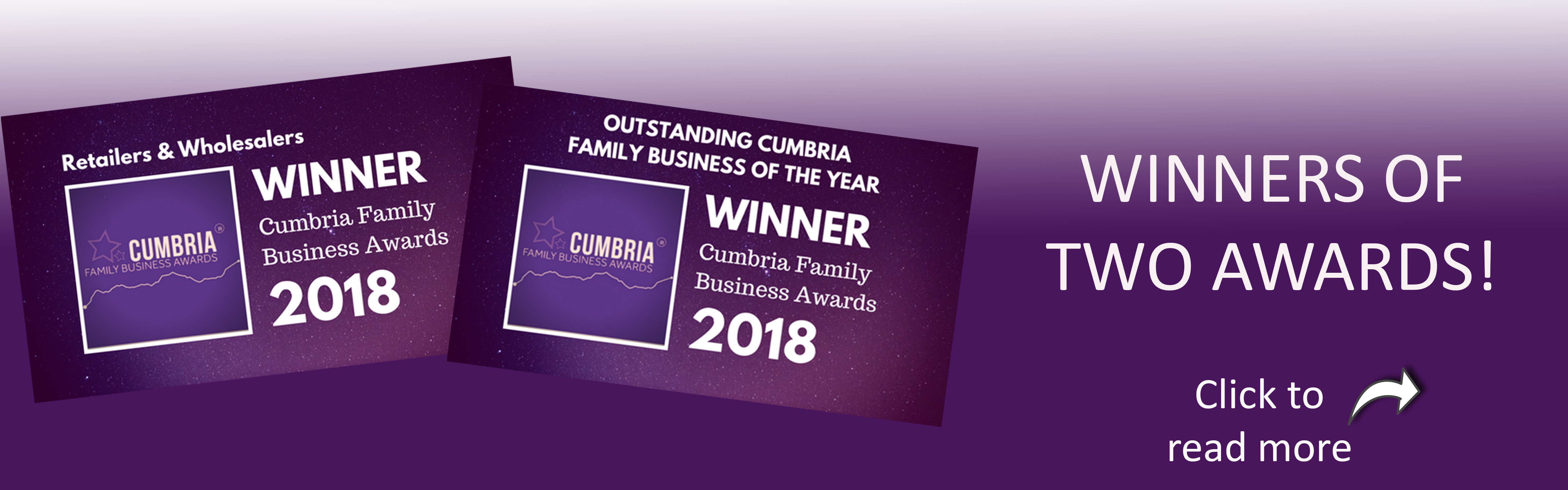 Pioneer Foodservice | Cumbria Family Business Awards | Winners logos