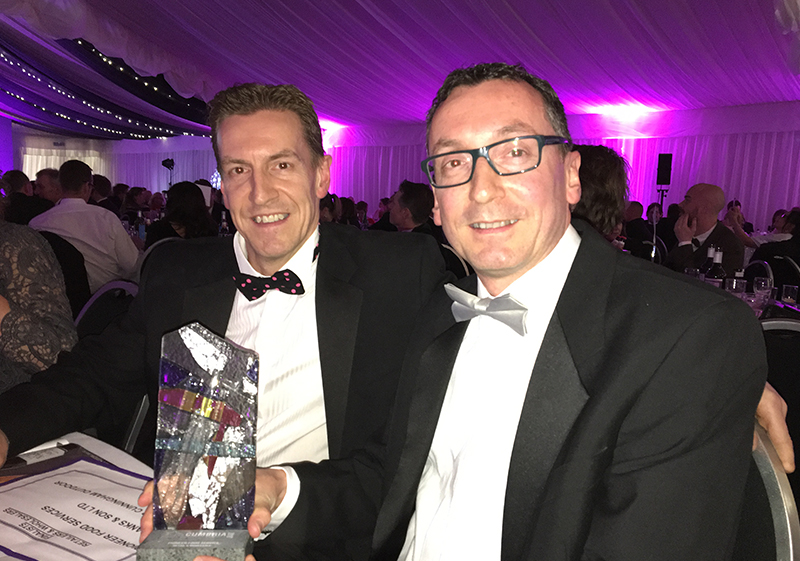 Pioneer Foodservice | Cumbria Family Business Awards | David Jenkins | Graham Jenkins