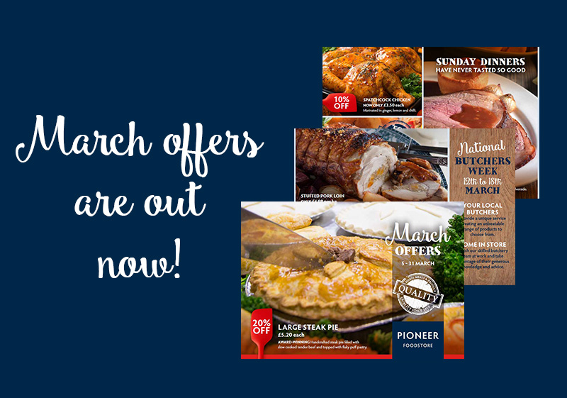Pioneer Foodstore | March offers