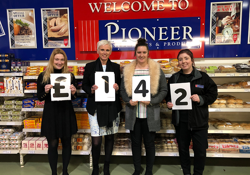Pioneer Foodstore | Eden Valley Hospice | Christmas Jumper Day 2018 | Carlisle, Cumbria