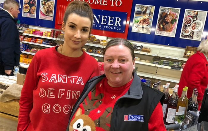 Pioneer Foodstore | Christmas Jumper Day 2018 | Eden Valley Hospice | Carlisle, cumbria