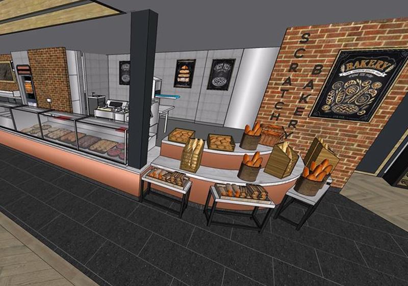 Pioneer Foodstore | Rosehill bakery counter | Carlisle, Cumbria