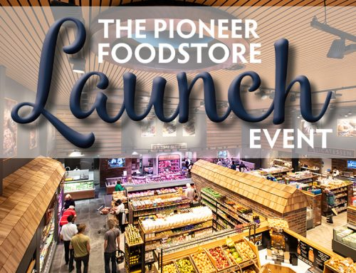 Celebrate the launch of our new foodstore!